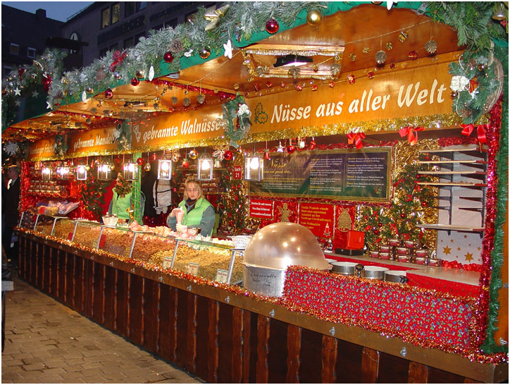 Chicago German Christmas Market.Daily Thought Pad European Markets Or Christkindlmarkts