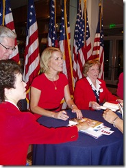 Laura Ingraham Book Signing at Nixon Library 072610-22