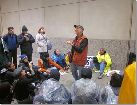 Bill Ayers at OWS