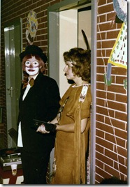 Fasching 1978-Monika and Marion- 2