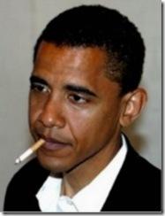 Obama Smoked