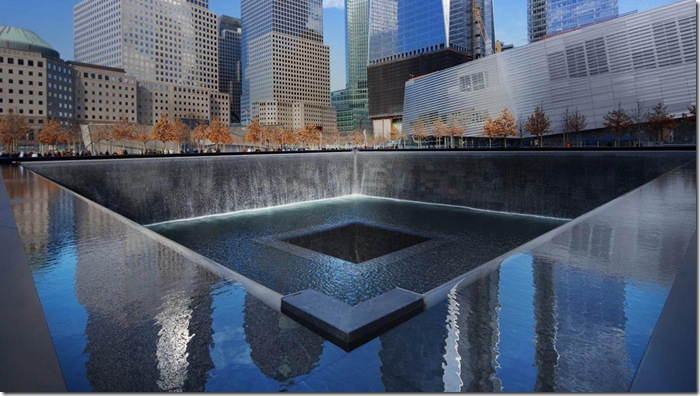 WTC Fountain 911 Memorial