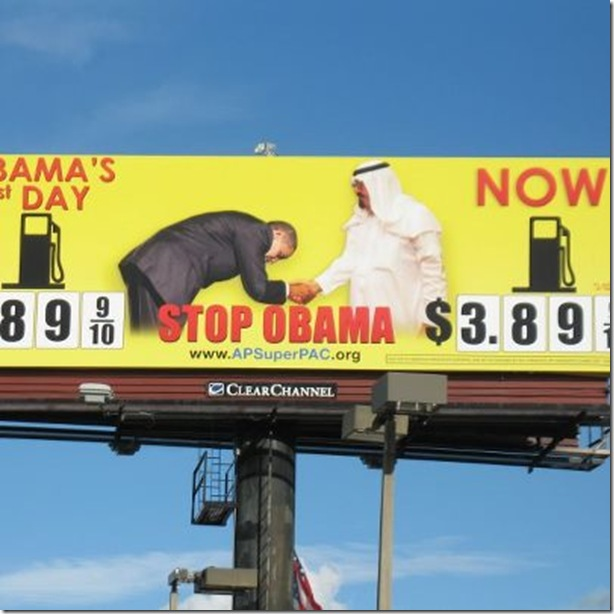 New Obama Bill Board in FL