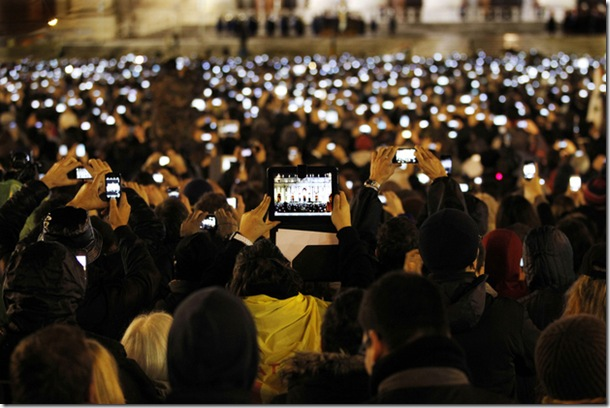 Photo that defines a generation at Vatican