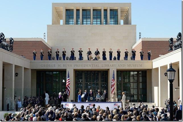 Bush 43 Library opens