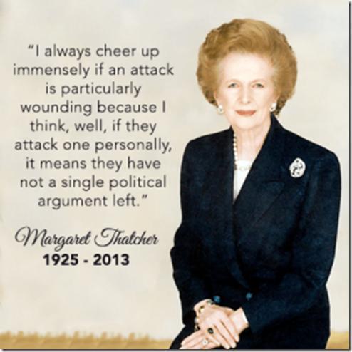 Thatcher Quote