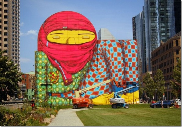 Boston Mural - largest
