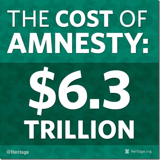Cost of Amnesty