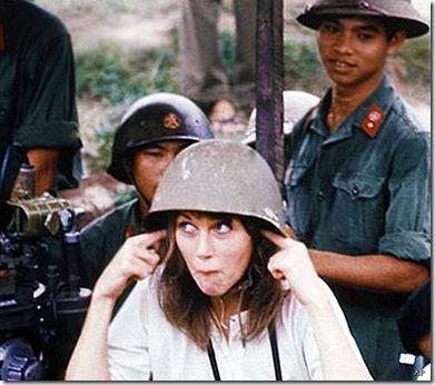 Hanoi Jane in VN in 1970