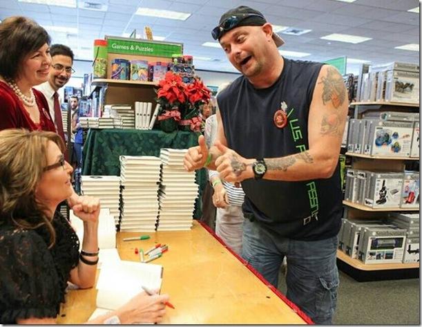 Palin Book Signing Naples