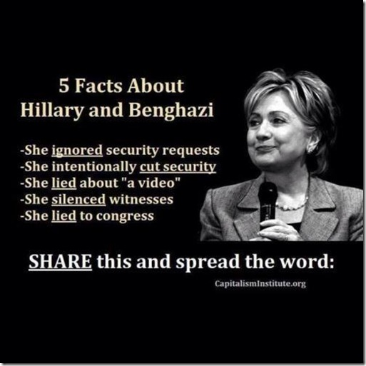 Hillary and Bengahzi Facts