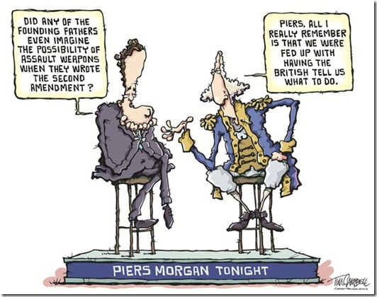 Piers Morgan Cartoon