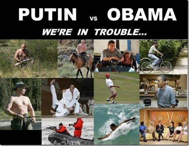 Putin vs Obama