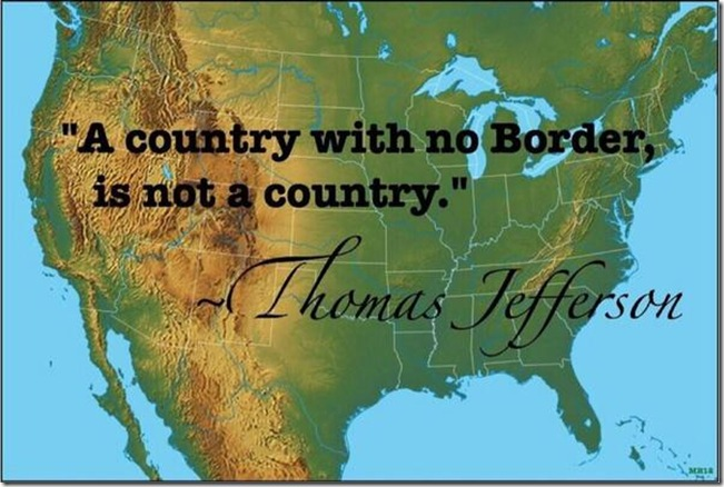 A Country With Not Border Is Not a Country