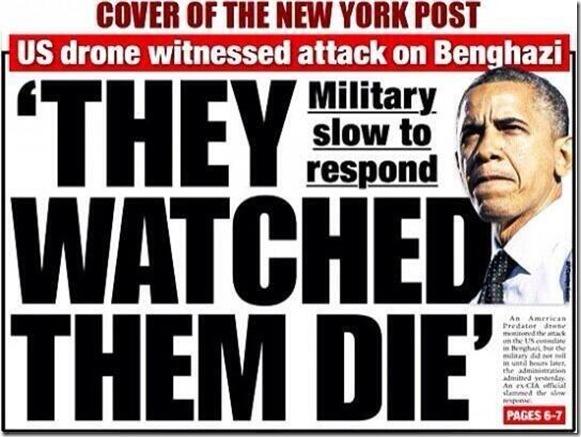 Benghazi... They