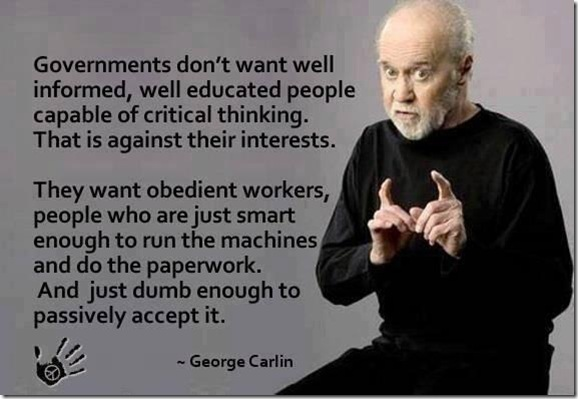 Carlin on Obedience