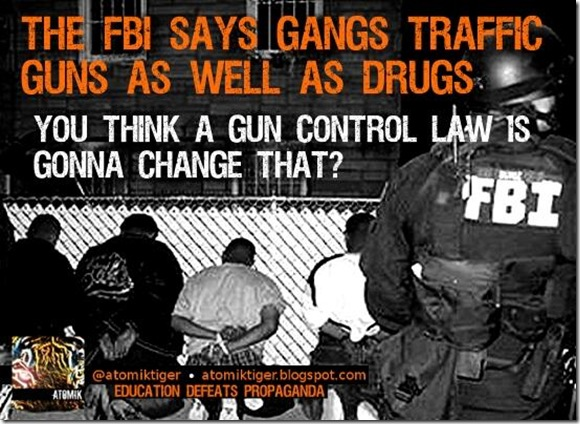 Guns, Drugs, Gangs... Manipulation