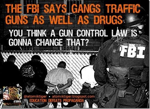 Guns, Drugs, Gangs... Manipulation