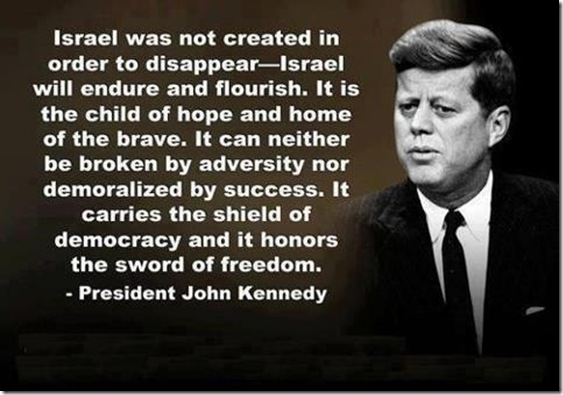 JFK On Israel