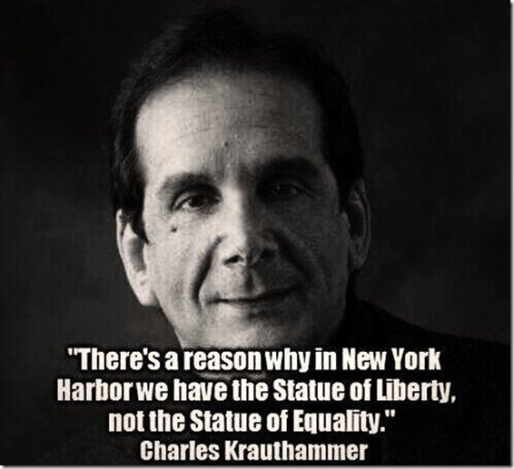 Statue of Liberty... Not Equality