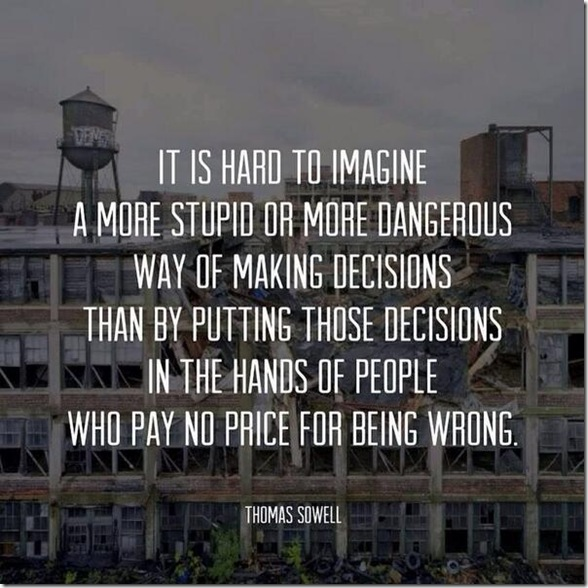 Thomas Sowell on Stupidity Poster