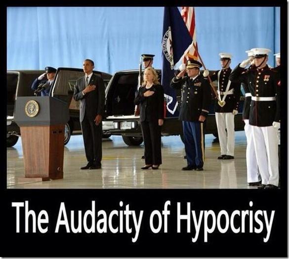 Audacity of Hypocricy - Bengahzi