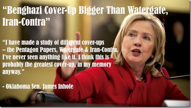 Benghazi Cover-Up Bigger Than Watergat... Iran Contra