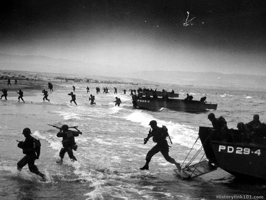 the events leading to the invasion of normandy Information and dates about important events during world war two in france   in normandy, the french reacted to the calls of their self-exiled leader charles.