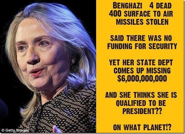 Hillary... Really