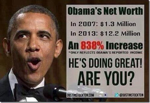 Obama's Net Worth