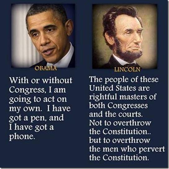 Obama vs Lincoln