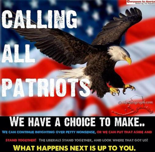 Calling All Patriots