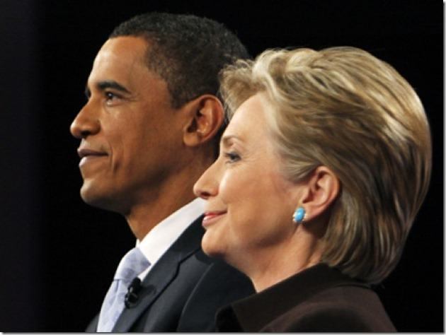 Obama-Hillary -  Same Sides of the Same Coin