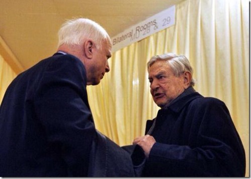 McCain Friend Soros