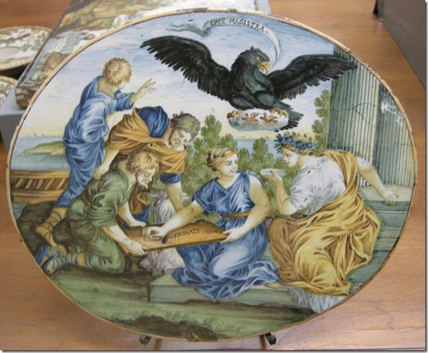 WC_sf_,_castelli,_carmine_gentile,_ovale_con_allegoria_dell'accademia_degli_illuminati,_1730-1750